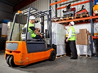 Industrial Counterbalance Lift Truck Refresher
