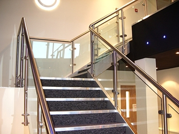 Bespoke Corporate Staircase Fabrications