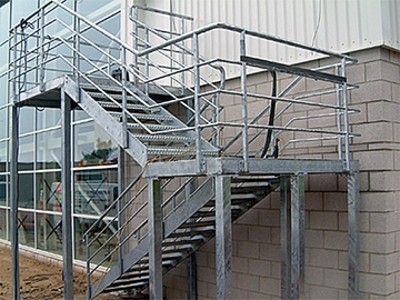 Fire Escape Structure Fabrications