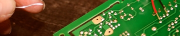 Through-Hole Conventional Printed Circuit Board Assembly