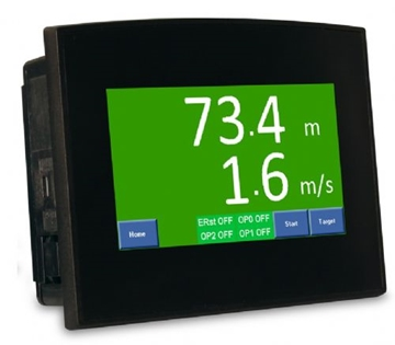 Multifunctional Colour Touch Screen Counters / Ratemeter
