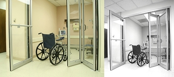 Stanley Dura-Care 7600 Series Hybrid Swing and Fold Door System