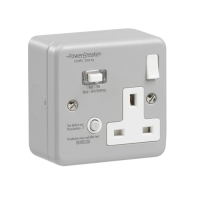 Switched RCD Sockets