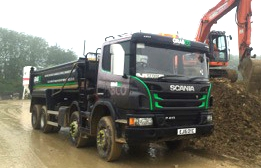 Eight Wheel Tippers