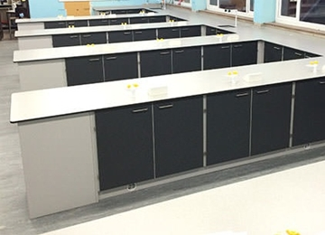 Peninsular Science Classroom Furniture Systems