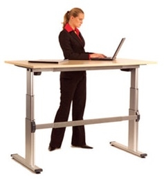 Active Height Adjustable Desk Table System