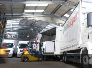 Tracked Pallet Freight Distribution Services