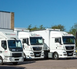POD Pallet Delivery Services in Bedfordshire