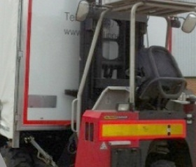Vehicle Mounted Forklift Heavy Goods Delivery