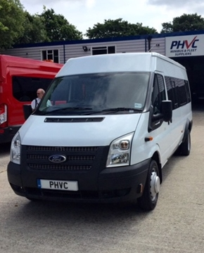 For Sale; Ford Transit 17 Seat Minibus