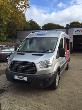 For Sale; New Model Ford Transit 12 Seater Ex Demo