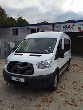 For Sale: 2 x New Model Ford Transit 12 Seat Minibuses