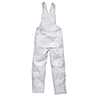 WORWD031.L - Dickies Painters Bib N Brace White Large