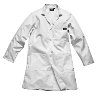WORWD056.W.L - WD056 Dickies Redhawk Warehouse Coat White Large