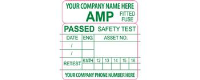 PAT Safety Test Labels
