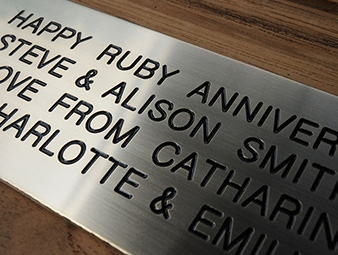 Industrial Engraving Services