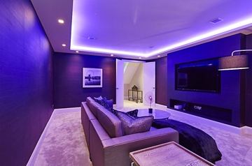 Guest Lounge Basement Conversion Design & Build Company