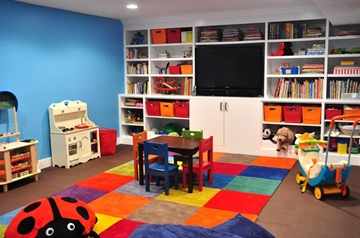 Playroom Basement Conversion Design & Build Company
