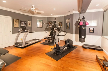 Gym Basement Conversion Design & Build Company