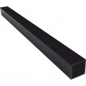 50mm Black Aluminum Square Sign Post Supplier