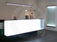 Commercial Bespoke Glass Furniture