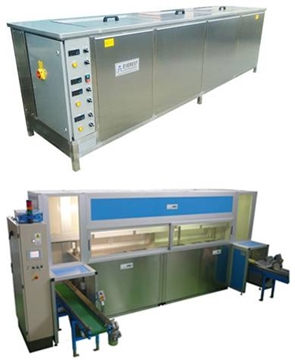 Cleanline Multi-Stage Ultrasonic Cleaning Systems
