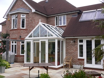 Conservatory Installation In The West Midlands