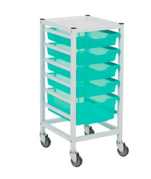 Compact Hospital Storage Trolleys