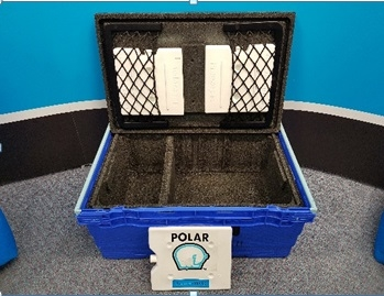 Polar DOT BOX with Collapsible Tote Thermal Line