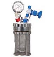 Picoclave Jacketed Glass Pressure Vessel