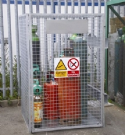 One Piece Gas Storage Cages