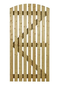 Orchard gate - flat or curved