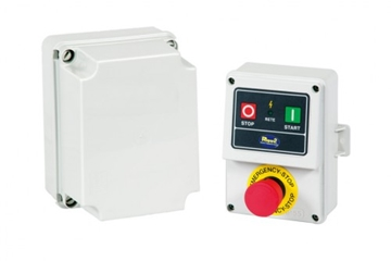 Emergency box modulo controlled micro