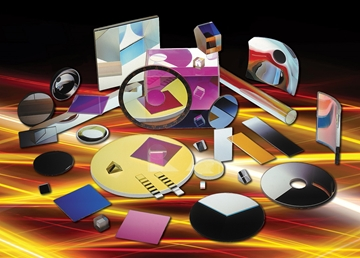 Optical components and thin film coatings
