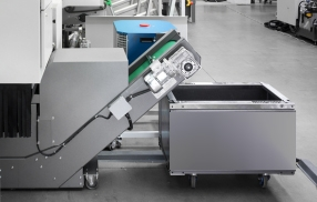 Automated Unloading And Support System