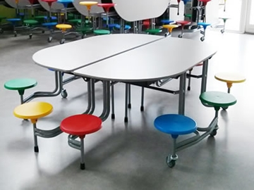 10 Seat School Dining Table