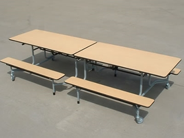 Bench School Dining Table