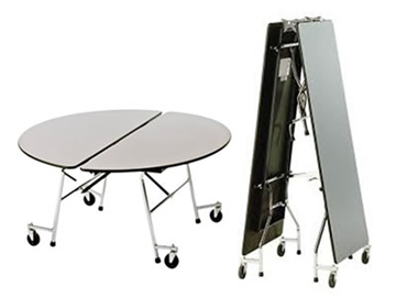 Mobile Folding School Dining Table