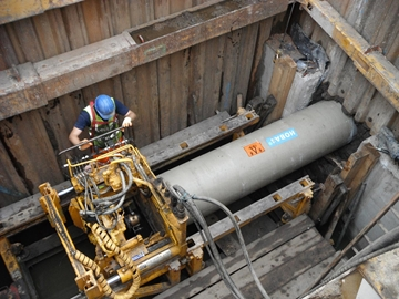 Guided Auger Boring Aids River Quality Improvement Work