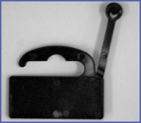 Black Euro Hooks (with Label Area) Supplier