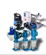 Grundfos water pumps