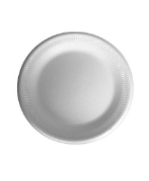 6'' Polystyrene Plate - TP1 packed 100