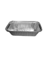 Rectangular Foil Container 8'' x 4'' x 2'' - 3242 (No. 6a) cased 500