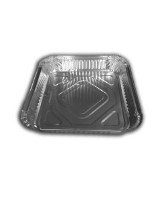 Square Foil Container 9'' shallow - 2820 cased 200