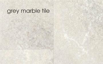 Marbrex Grey Marble Tile Effect Wall Panel (3 lengths per pack)