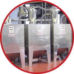 Centralised Plastic Material Feed Systems