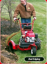 Walk Behind Edger With Trenching blades