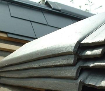 Fibre Cement Ridges For Pitched Roofs