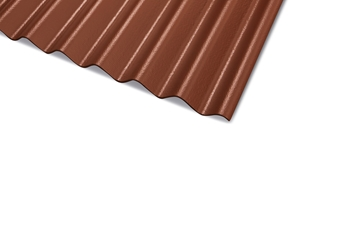 Compressed Corrugated Fibre Cement Roofing