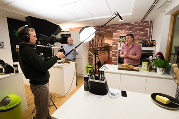 Corporate TV Cookery Videography